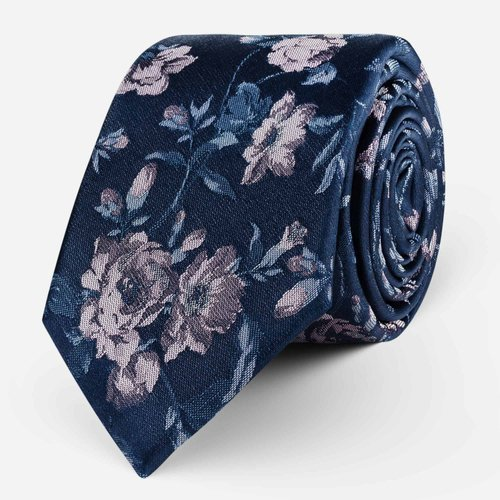 Krawat Violet Roses