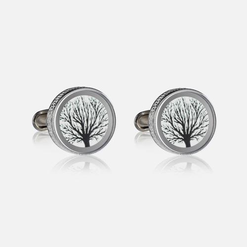 Spinki do mankietów Lueur Trees