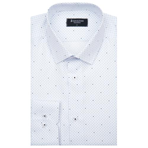 Koszula Tailored Agujas Blue