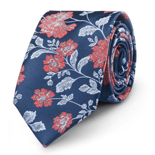 Krawat Flower Pattern