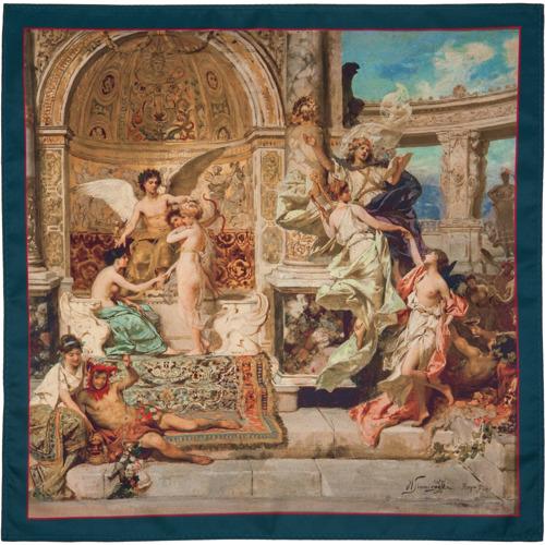 Poszetka Art Theme Rome