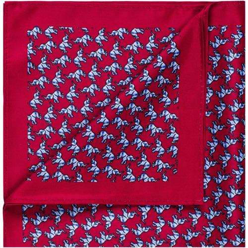 Poszetka Blue Elephants