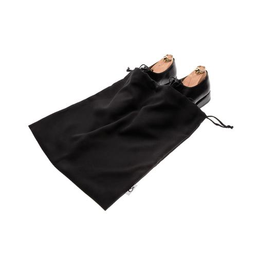 Worek dwukomorowy na buty czarny