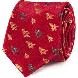 Krawat Christmas Tree Red